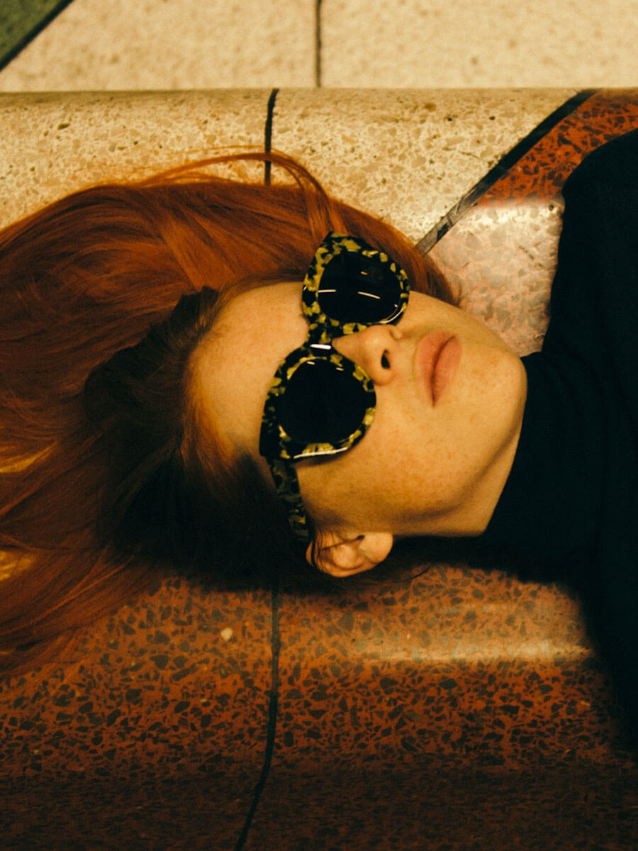 7d46d234b4 Monokel Cleo Marble Eyewear Sunglasses