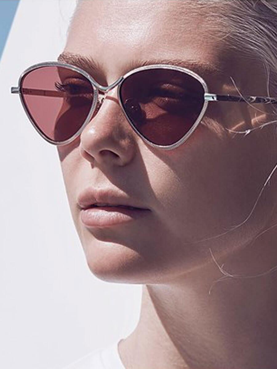 585d1c13cb Le Specs - Bazaar Rose and Gold Laser cut Sunglasses » Bonaval